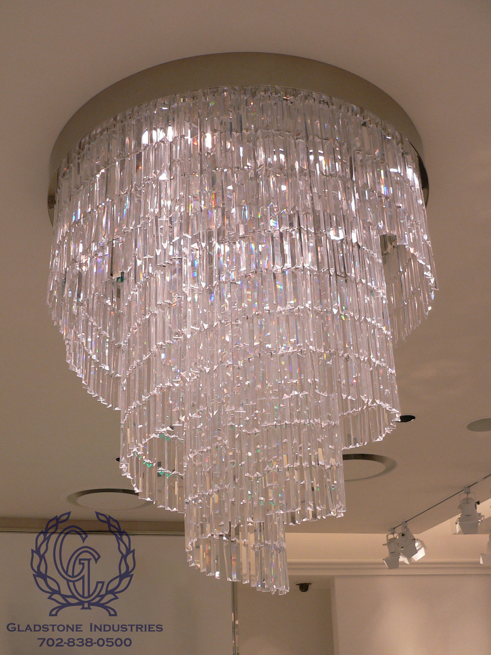 Custom Chandeliers and Pendants Gladstone Industries Corporation
