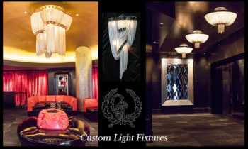 Custom Chandeliers and wall sconces