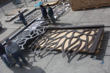 Custom Wall Panels, Custom Metal Screens, Decorative Panel
